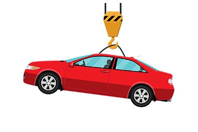 جلوگیری از حمل خودرو با جرثقیل