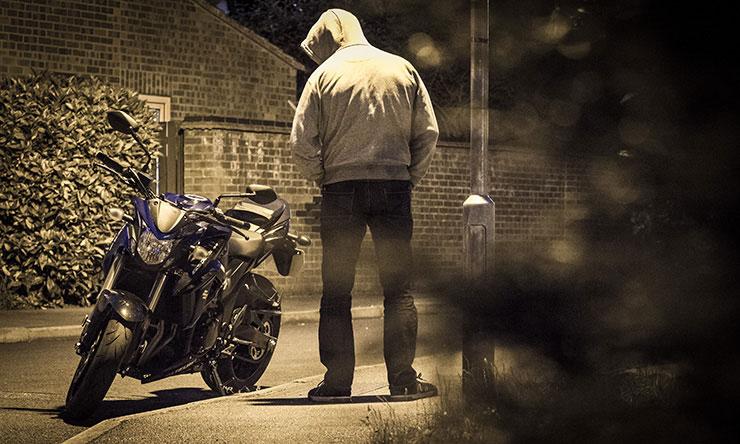 سرقت موتور سیکلت