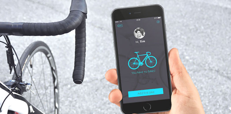 تهیهی گزارش از ردیاب دوچرخه