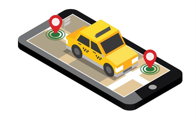 مسیریابی در تاکسی آنلاین