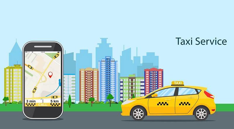 ردیاب در تاکسی اینترنتی